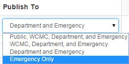 Emergency Only